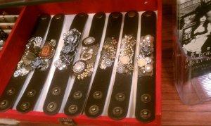 SH leather bracelets