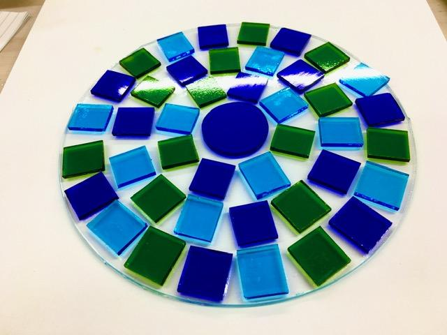 mosaic plate construction image